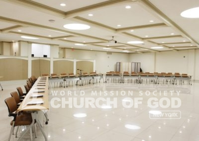 World Mission Society Church of God in New Windsor Fellowship Room