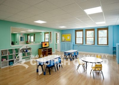 World Mission Society Church of God in New Windsor Children's Room
