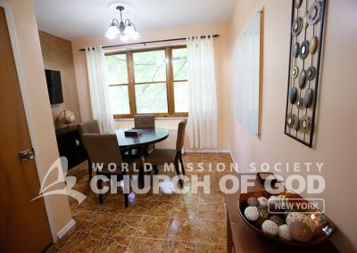World Mission Society Church of God in New Windsor, Bible study room