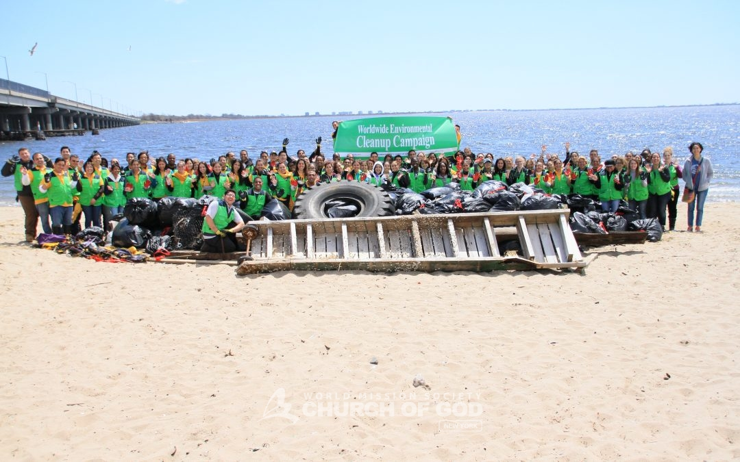 Jamaica Bay Cleanup April 2015
