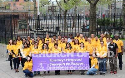 Beautifying Rosemary's Playground
