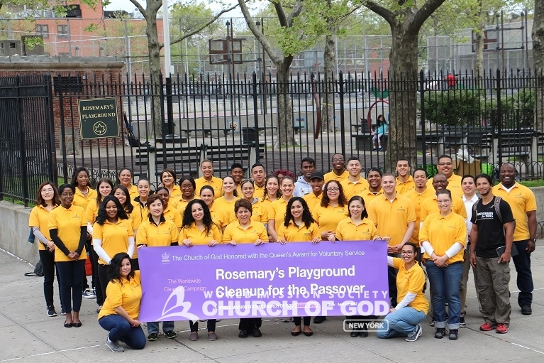 Beautifying Rosemary's Playground