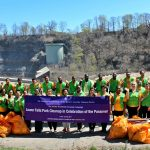 world mission society church of god, wmscog, church of god in new york, church of god in rochester, little falls, maplewood park, rose garden, yellow shirt volunteers, environmental protection
