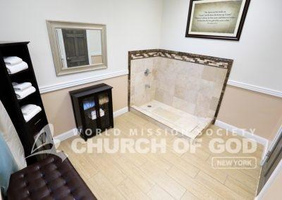 World Mission Society Church of God, Long Island, LI, NY, New York, Baptism room, Towels
