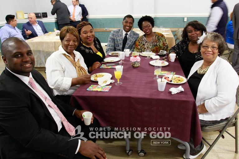 World Mission Society Church of God, wmscog, Mother's Day, mothers, Long Island, NY, New York, LI, love, sacrifice, breakfast, appreciation