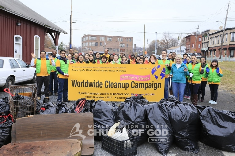 """Mother's Street"" Cleanup Movement"