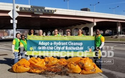 Rochester Adopt-a-Hydrant Cleanup