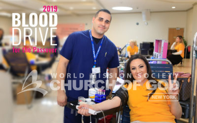 2019 Blood Drive for the Passover in New Windsor
