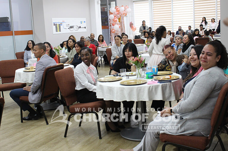 Mother's Day 2019 at the World Mission Society Church of God in the Bronx, NY